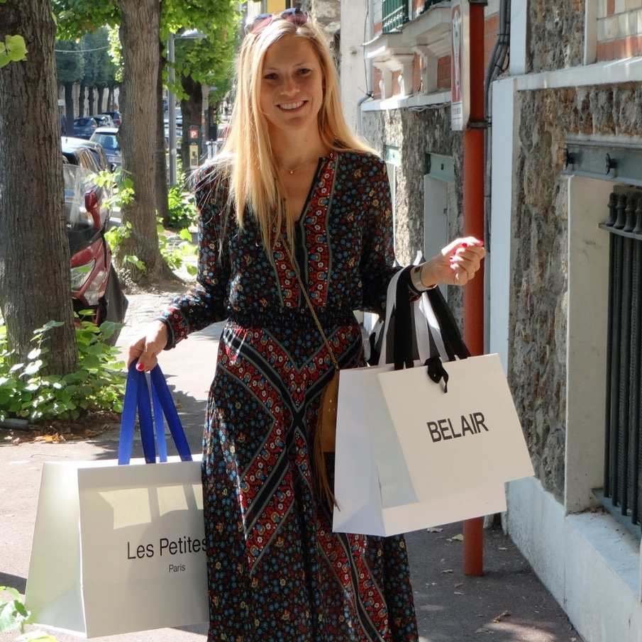 Prestation Accompagnement Shopping avec MM