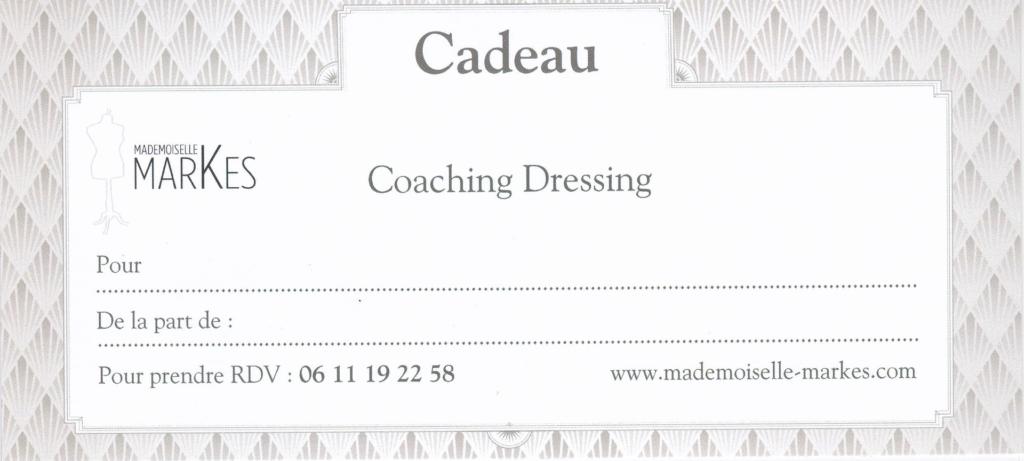 Carte Cadeau Coaching Dressing avec MM
