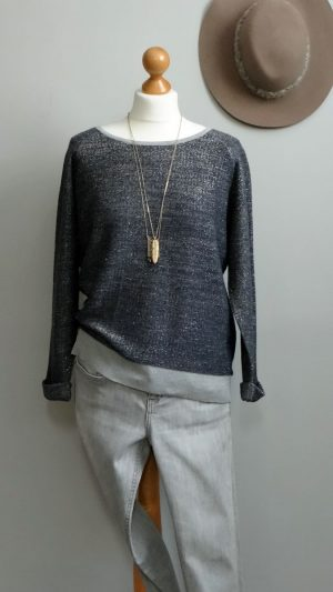 Sweat lurex coton American Outfitters 38