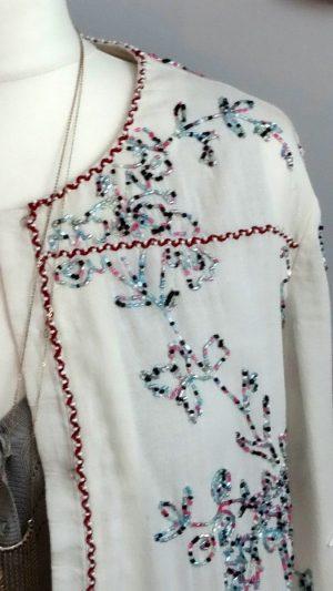 Blouse gilet broderies Antik Batik 40