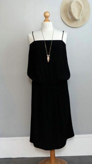 Robe Heline noire Ba&sh 40