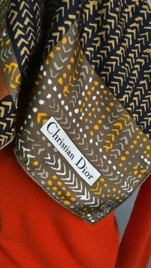 Carre de soie Christian Dior
