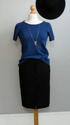 Jupe noire Yumi Mazao 38