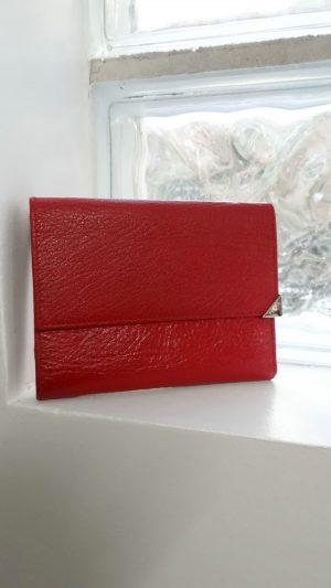 Portefeuille cuir rouge Furla