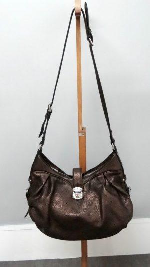 Sac cuir bronze bandoulière Louis Vuitton