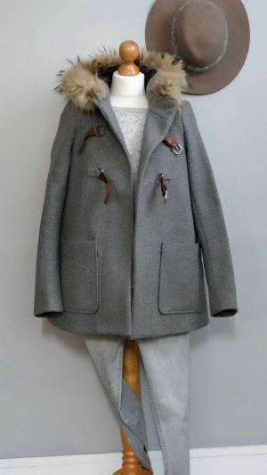 Manteau laine Alenxia Maje 36