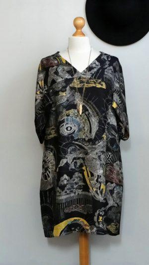 Robe soie imprimé See By Chloé 40