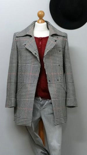 Manteau laine Thierry Mugler Couture 36