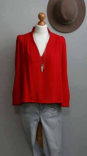 Blouse mathys rouge Ba&sh 34