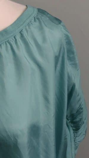 Blouse soie bleu Comptoir des Cotonniers
