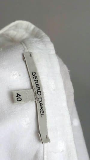 Chemisier coton plumetis Gérard Darel