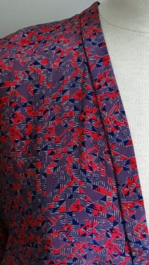 Robe imprimés soie Maje