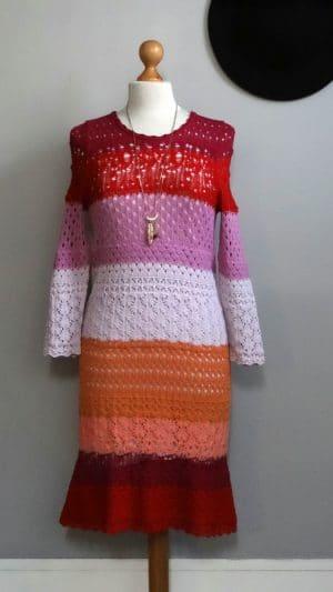 Robe crochet Neuve Sonia Rykiel 38