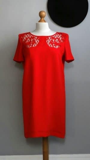 Robe rouge Neuve The Kooples